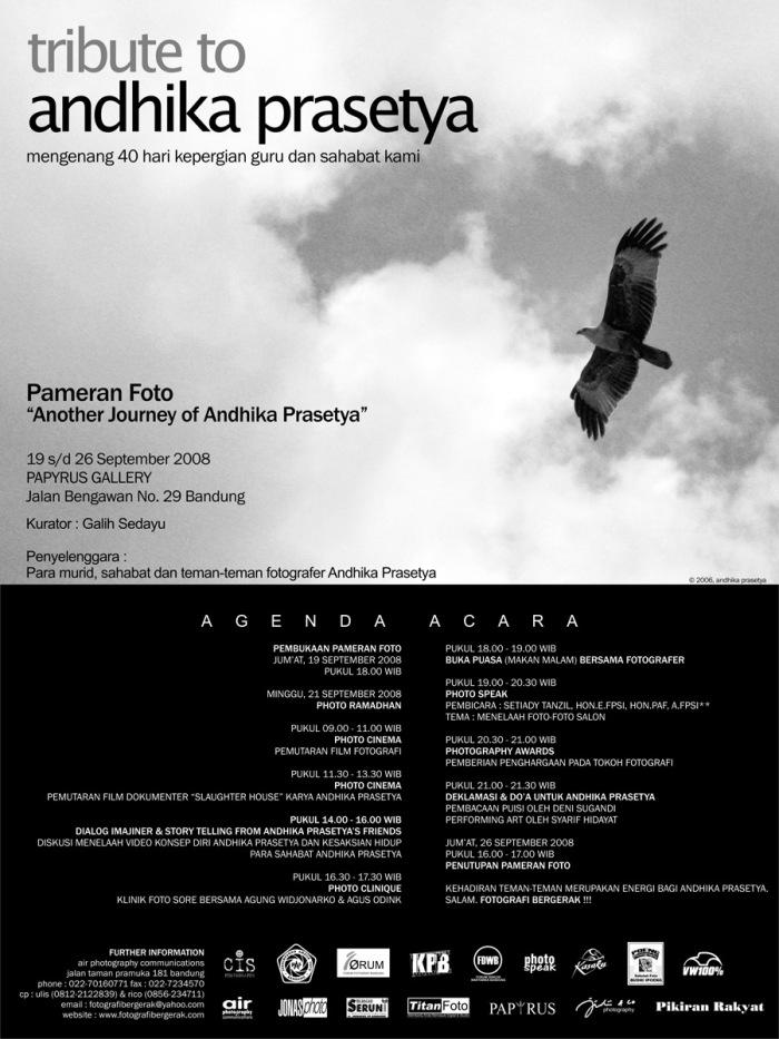 tribute to andhika prasetya