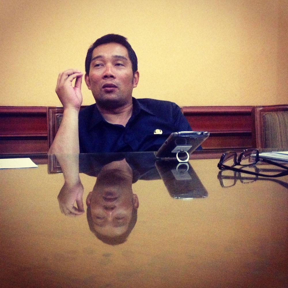 evening talk with bandung mayor