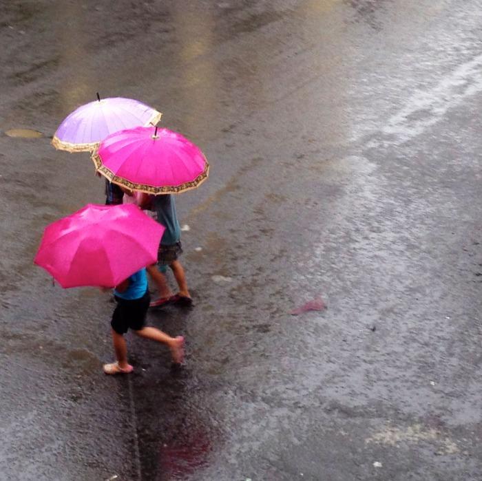 rainy moment