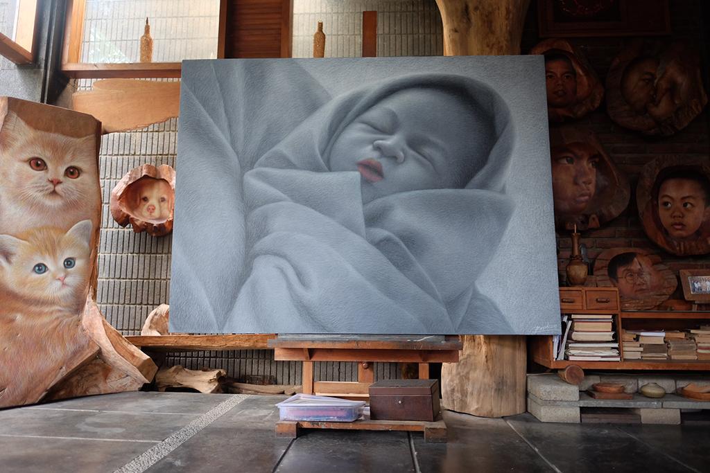 lukisan thalia