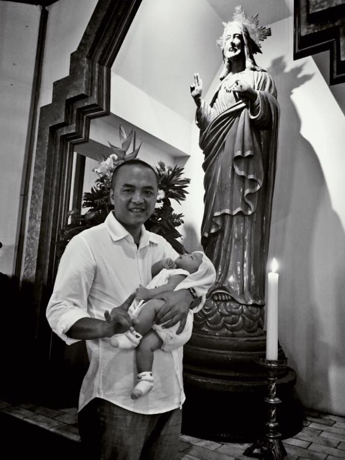 pembaptisan thalia