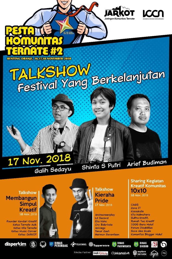 Talkshow Ternate