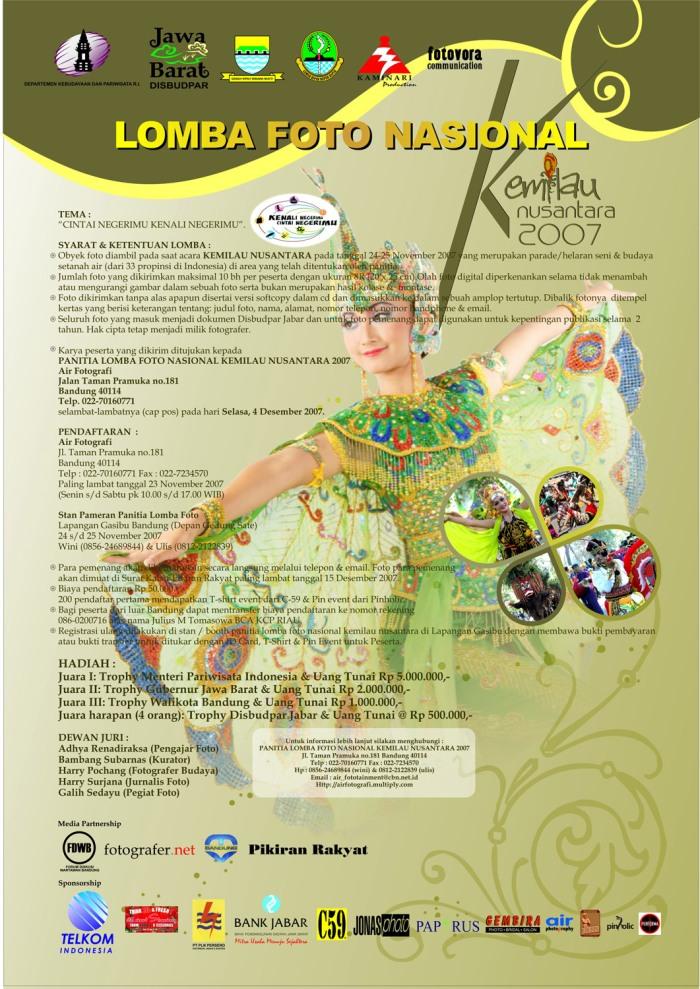 Kemilau Nusantara Photo Contest 2007 (blog)