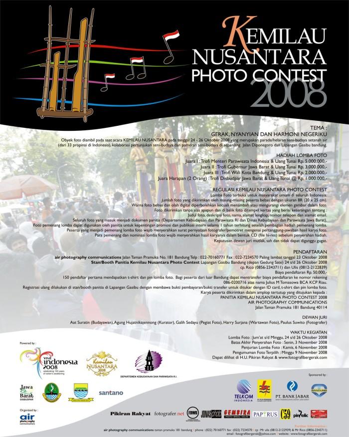 Kemilau Nusantara Photo Contest 2008 (blog)