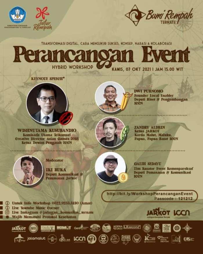 Webinar Perancangan Event
